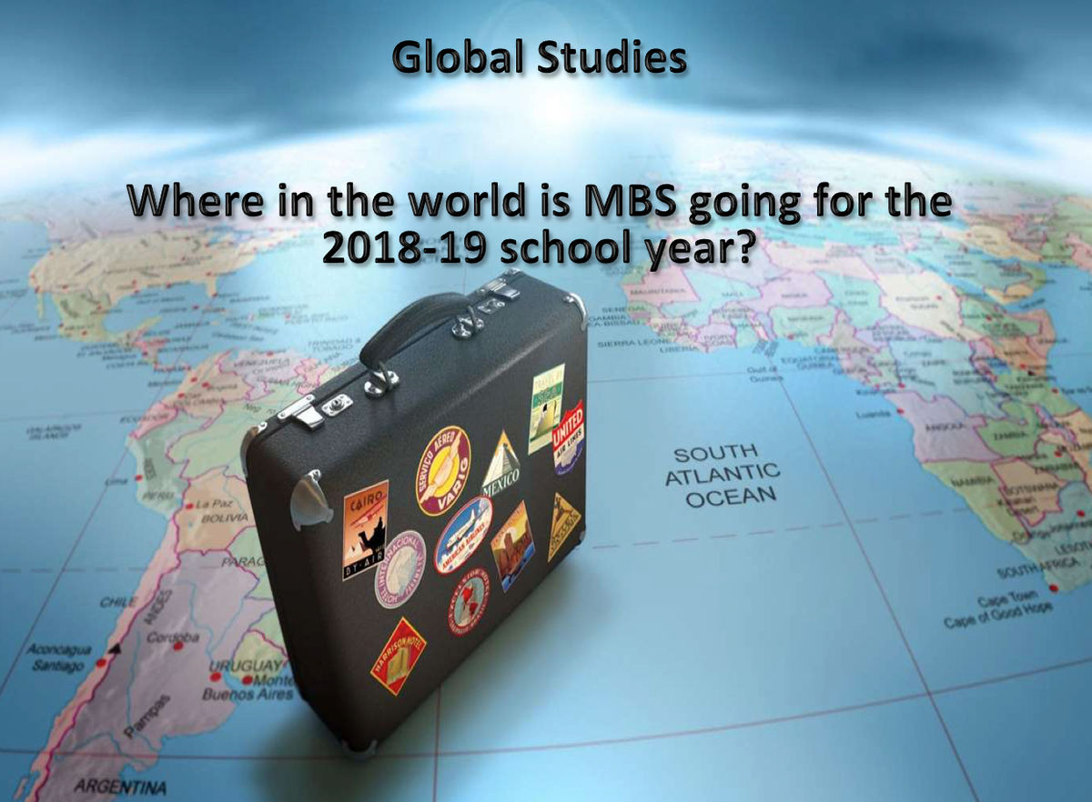 MBS Announces Global Trips for 2018-2019