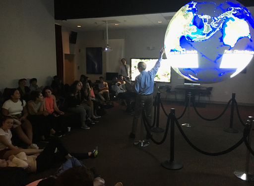 9th Graders Learn about Melting Ice Caps