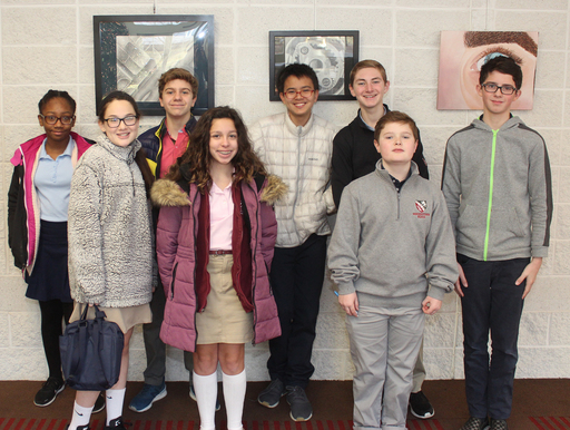 MBS Wins Area Spelling Bee at Delbarton