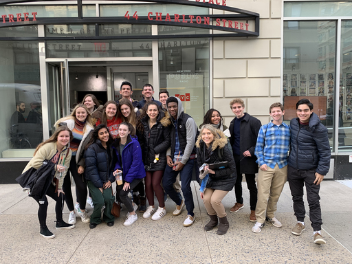Students Attend Broadcast of Brian Lehrer Show