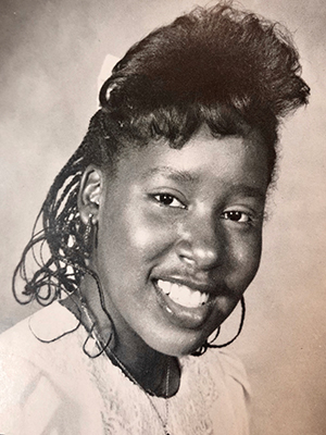 Photo: Monya - MBS Senior Year 1988