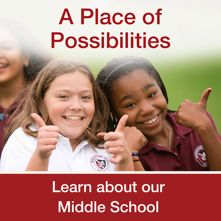Middle school girls exemplify a place of possiblities
